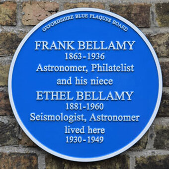 On 8 October 2019, a plaque under the Oxfordshire Blue Plaques Scheme was unveiled at their residence, 2 Winchester Road where they lived from 1930 to 1949
